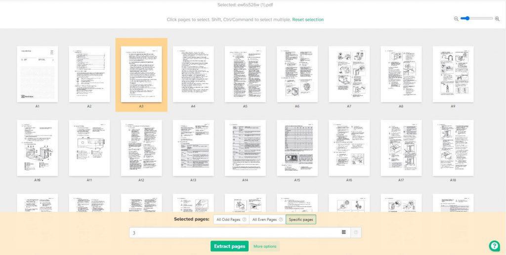 pdf oldal törlése