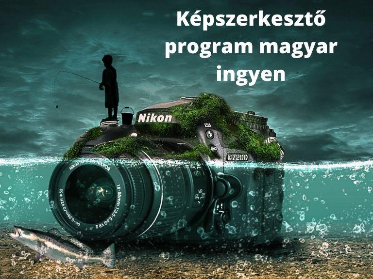 Képszerkesztő program magyar ingyen