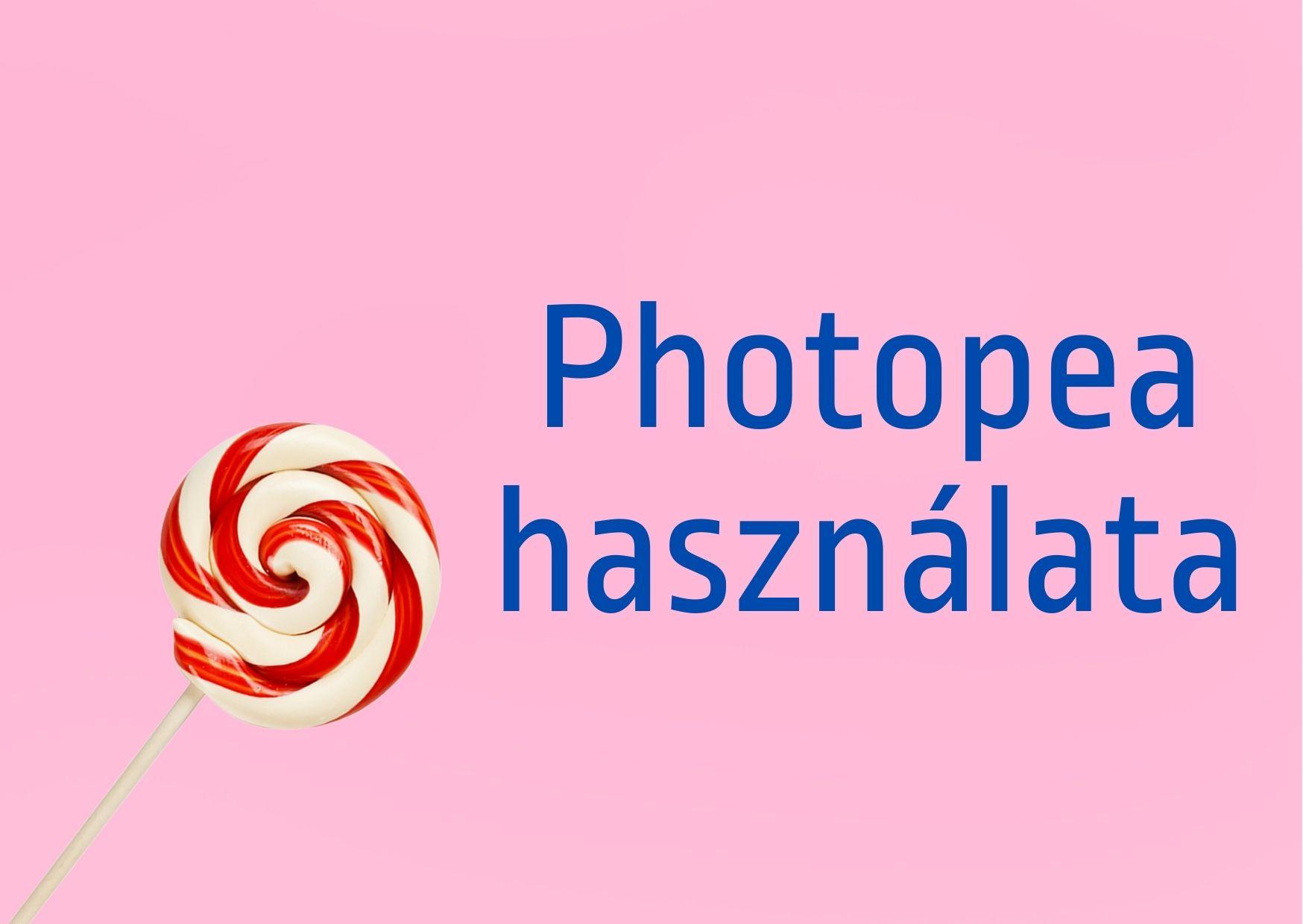 Photopea használata
