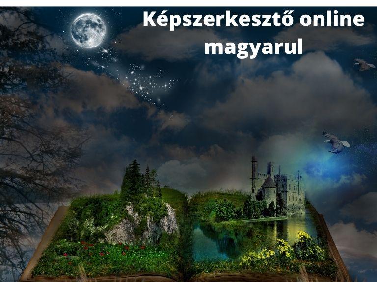 Képszerkesztő online magyarul