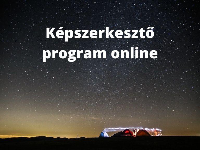 képszerkesztő program online