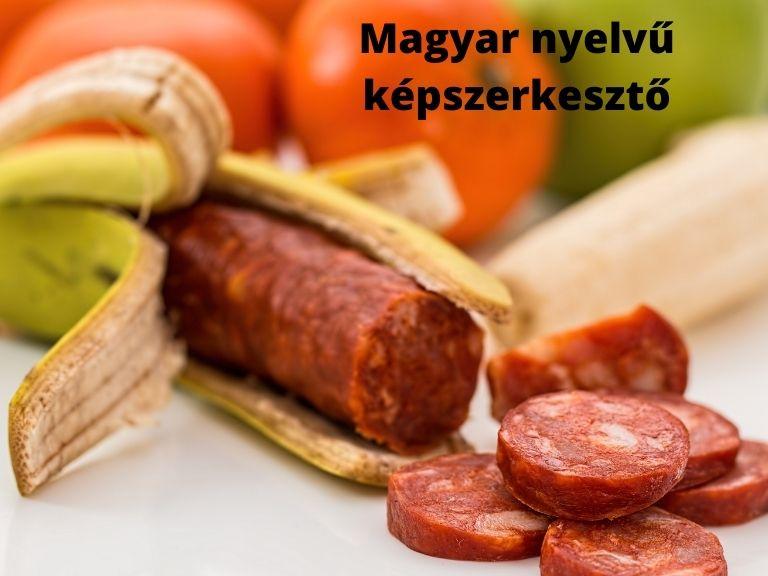 Magyar nyelvű képszerkesztő