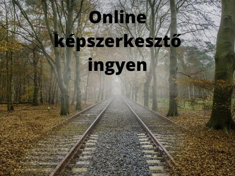 online képszerkesztő ingyen