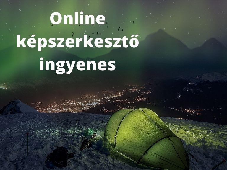 online képszerkesztő ingyenes