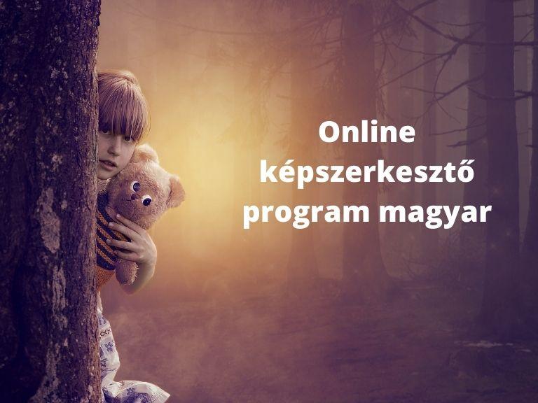 online képszerkesztő program magyar