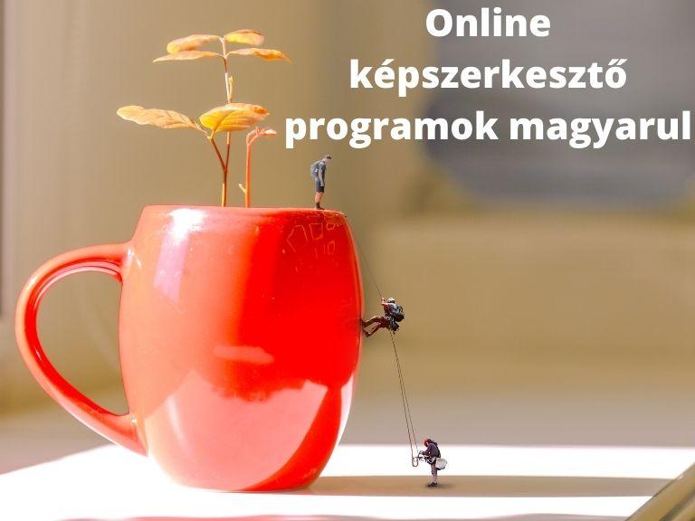 Online képszerkesztő programok magyarul