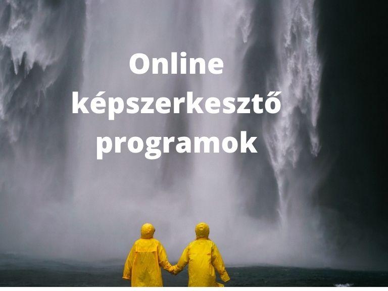 online képszerkesztő programok