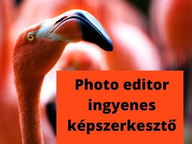 photo editor ingyenes képszerkesztő
