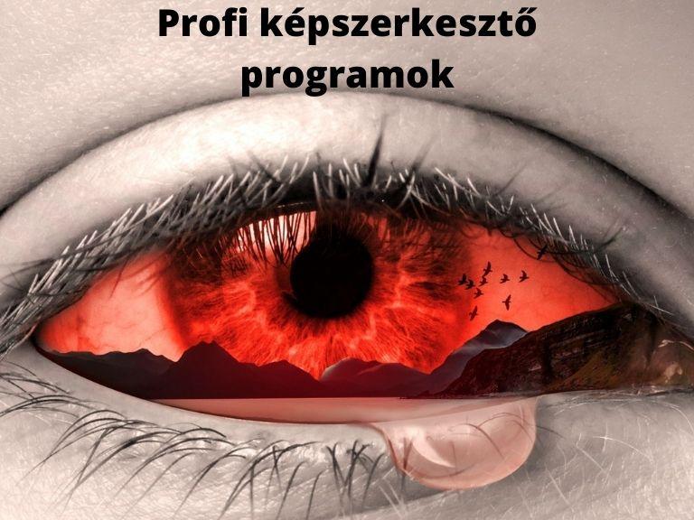 Profi képszerkesztő programok
